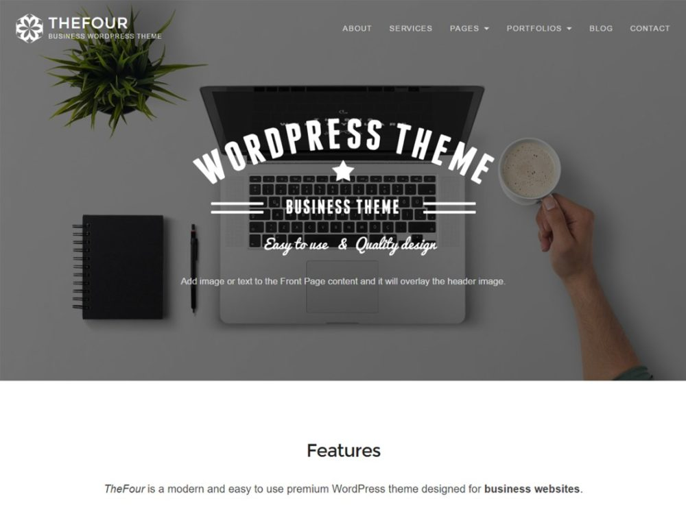 TheFour Lite WordPress Theme
