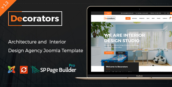 Decorators joomla theme