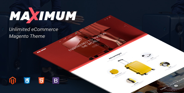 Maximum Magento Theme