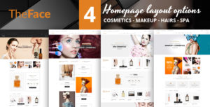 TheFace magento Theme