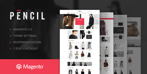 Ves Pencil Magento Theme