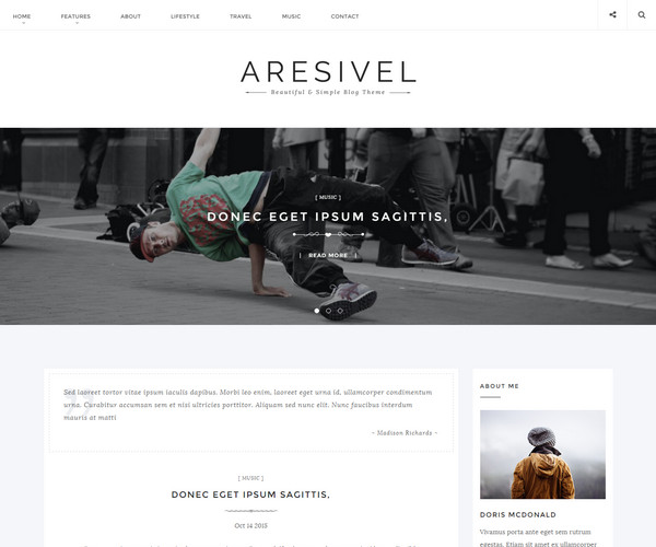 aresivel drupal theme