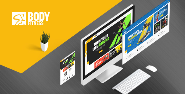 body fitness magento theme