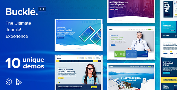 buckle joomla theme