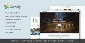 comely drupal theme