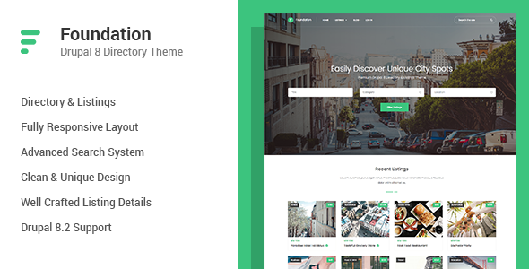 foundation drupal theme