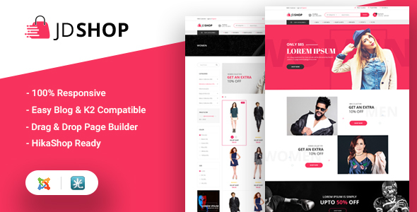 jd shop joomla theme