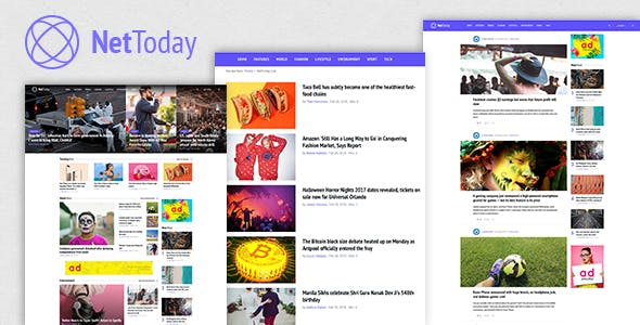 nettoday joomla theme