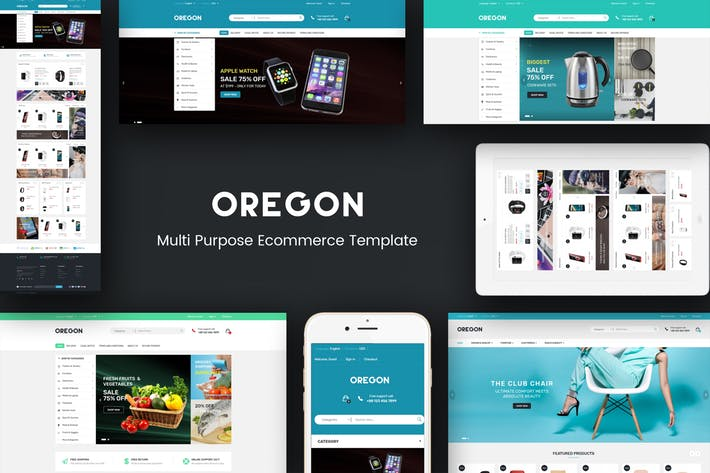 oregon magento theme