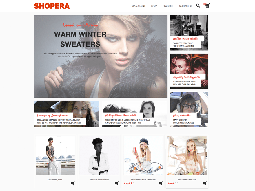 shopera wordpress theme