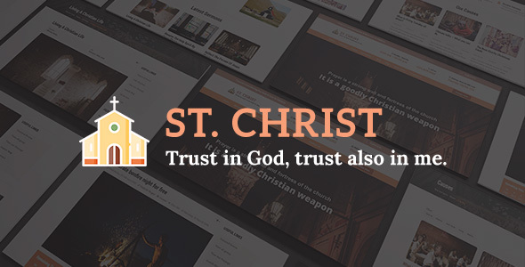 St. Christ Joomla Theme