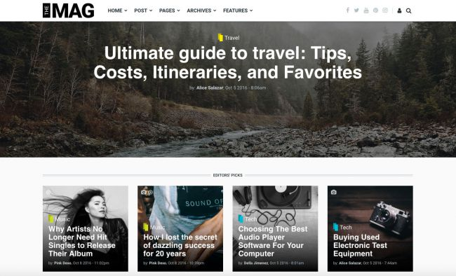themag drupal theme