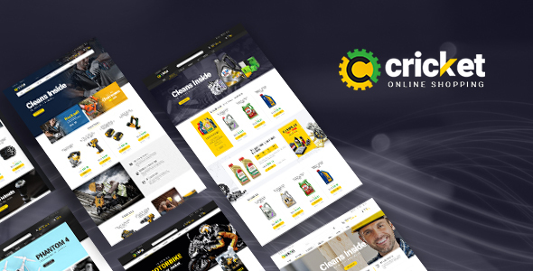ves cricket magento theme