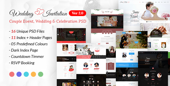 wedding joomla theme