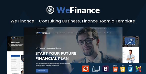 wefinance joomla theme