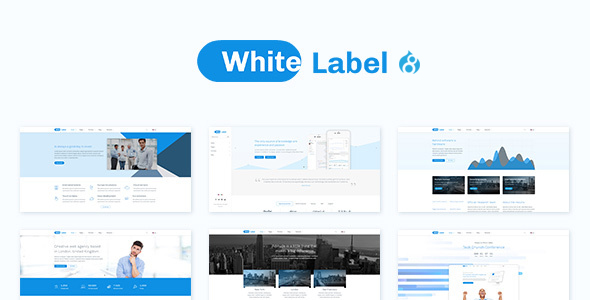 white label drupal theme