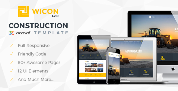 wicon joomla theme